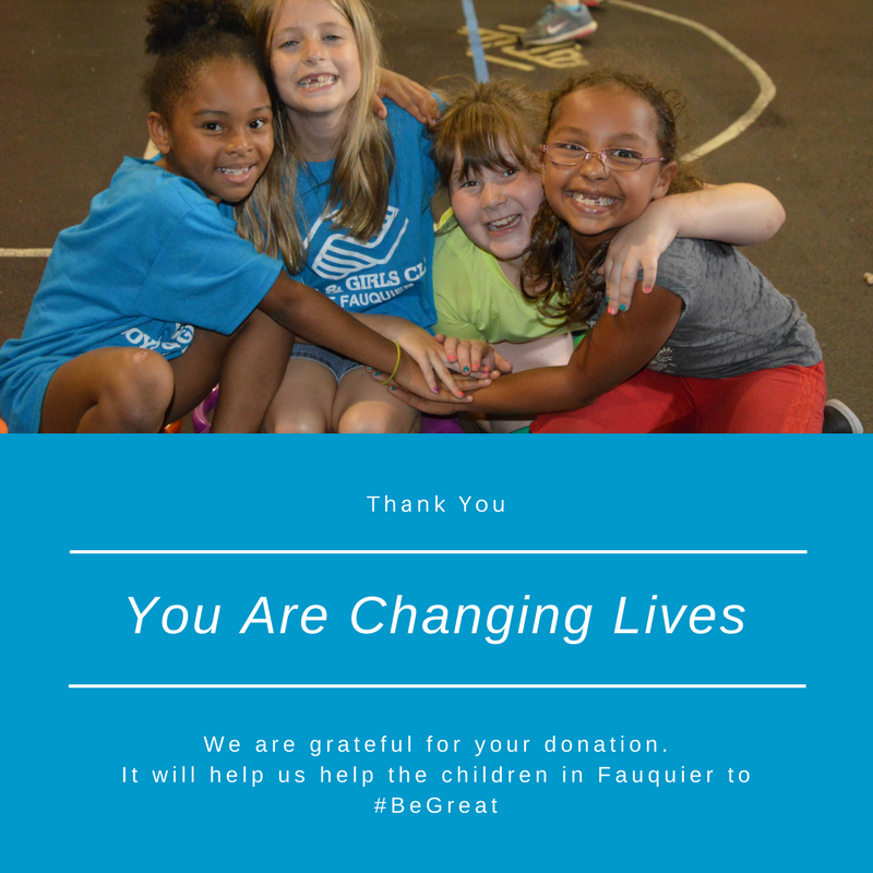 Give to Boys & Girls Clubs of Fauquier